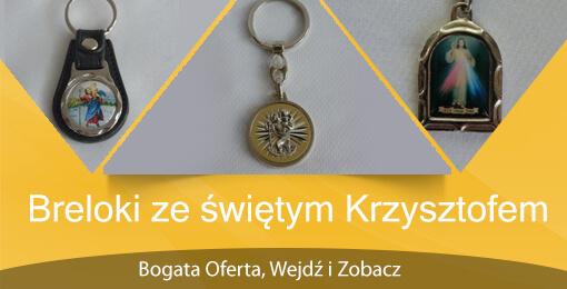 Breloki ze św. Krzysztofem