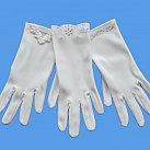 Rękawiczki komunijne dla dziewczynki różne wzory