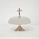 Gong mosiężny, odlewany kolor srebrny