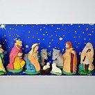 Szopka Bożonarodzeniowa średnia