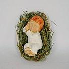 Dzieciątko Jezusek na sianku śpiące