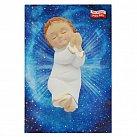 Dzieciątko Jezusek śpiące gipsowe