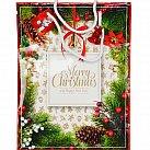 Torebka ozdobna Happy Christmas A4