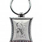 Brelok srebrny św. Krzysztof metalowy