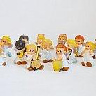 Figurki Orkiestra aniołków Komplet