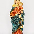 Figurka Matki Boskiej z Dzieciątkiej