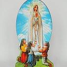 Figurka drewniana Matki Boskiej Fatimskiej