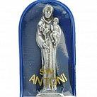 Figurka św. Antoniego w etui granatowym