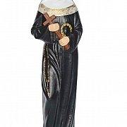 Figurka gipsowa święta Rita