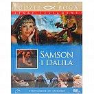 Samson i Dalila - film DVD z książeczką