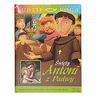 Św. Antoni z Padwy- książka z filmem DVD dla dzieci