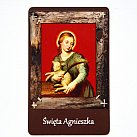 Magnes ze św. Agnieszką