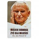 Magnes Jan Paweł II Miejcie odwagę