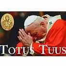 Magnes Jan Paweł II Totus Tuus Maryjo
