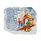 Magnes Boże Narodzenie ze św. Mikołajem