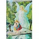 Puzzle Anioł Stróż kładka