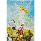 Puzzle Anioł Stróż dzieci przepaść