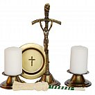 Komplet kolędowy duży z krzyżem papieskim