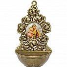 Kropielniczka metalowa ze św. Józefem