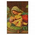 Obrazek do książeczki z Matką Boską Karmiącą