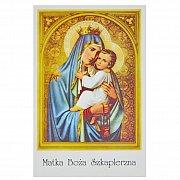 Obrazki do książeczki z Matką Boską Szkaplerzną