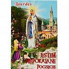 Obrazki do książeczki z Matką Boską z Lourdes