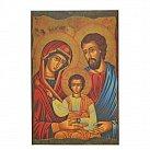 Obrazki św. Rodzina ikona ciemna
