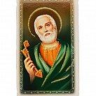 Obrazek do książeczki z brokatem, Św. Piotr