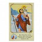 Obrazki święty Krzysztof z Przykazaniami Kierowcy