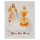 Obrazek do Pierwszej Komunii Świętej, wzór 36 z Papieżem Franciszkiem