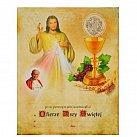 Obrazek do Pierwszej Komunii Świętej, wzór 40, z Janem Pawłem II