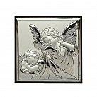 Obrazek srebrny Anioł Stróż 12x12