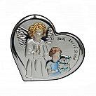 Obrazek srebrny dla chłopca Twój Anioł Stróż