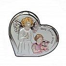 Obrazek srebrny dla dziewczynki Twój Anioł Stróż