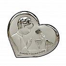 Obrazek srebrny Pamiątka Pierwszej Komunii Świętej dla Chłopca