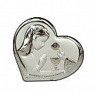 Obrazek srebrny Pamiątka Pierwszej Komunii Świętej dla Dziewczynki
