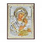 Ikona srebrna Matka Boska Nieustającej Pomocy