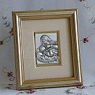 Obrazek srebrny MATKA BOSKA KARMIĄCA PAMIĄTKA CHRZTU ŚWIĘTEGO
