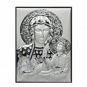 Obrazek srebrny Matka Boska Częstochowska