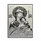 Obrazek srebrny MATKA BOŻA NIEUSTAJĄCEJ POMOCY 8x11