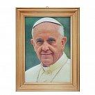 Obrazek 3D Ojciec Święty Franciszek 10 x 15
