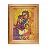 Obrazek 3D św. Rodzina 10 x 15