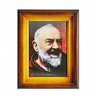 Obrazek ze świętym Ojciec Pio - obrazek 3D