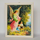 Anioł Stróż w Białej Ramce z Dziećmi