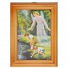 Obrazek w ramce Anioł Stróż nad wodą 10x15