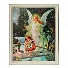 Anioł Stróż w Białej Ramce na Kładce 20x25