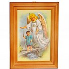 Obrazek w ramce Anioł Stróż 2