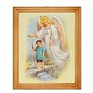 Obrazek w ramce Anioł Stróż chłopiec