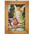 Obrazek w ramce Anioł Stróż kładka