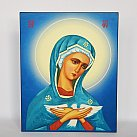 Obrazek Matka Boska Oblubienica Ducha św. wzór 2